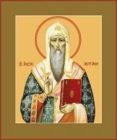 Алексий, митрополит Московский, святитель, чудотворец, икона (арт.00722)