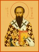 Василий Великий, архиепископ Кесарии Каппадокийской, святитель, икона (арт.00749)