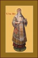 Иона, митрополит Московский, святитель, чудотворец, икона (арт.00757)