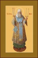 Петр, митрополит Московский, святитель, икона (арт.00759)
