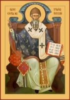 Спиридон Тримифунтский святитель, икона (арт.00784)