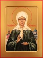 Матрона Московская блаженная, икона 240 х 300 мм, гладкая (арт.95-00806)