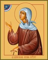 Ксения Петербургская блаженная, икона (арт.00812)