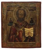 Николай чудотворец, архиепископ Мир Ликийских, святитель, икона (арт.40563)