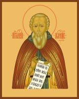 Александр Свирский преподобный, икона (арт.00854)