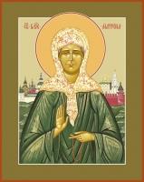 Матрона Московская блаженная, икона 300 х 400 мм, ковчег (арт.2107-00873)