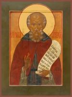 Савва Сторожевский преподобный, икона (арт.00897)