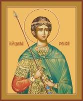 Димитрий Солунский великомученик, икона (арт.00901)