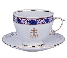 Чайная пара синяя (арт.34045)