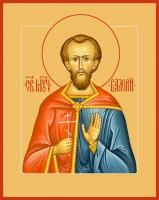 Валерий Мелитинский мученик, икона (арт.00975)