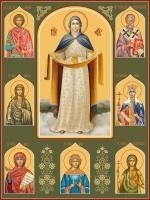 Семейная икона. Изготовление на заказ  (арт. S-002)