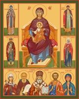Семейная икона. Изготовление на заказ  (арт. S-005)