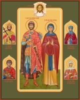 Семейная икона. Изготовление на заказ  (арт. S-008)