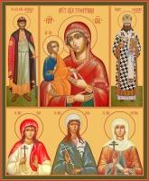Семейная икона. Изготовление на заказ  (арт. S-016)