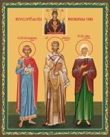 Семейная икона. Изготовление на заказ  (арт. S-034)
