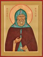 Преподобный Алексий Печерский , икона (арт.м0130)