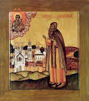 Преподобный Антоний Римлянин , икона (арт.м0144)