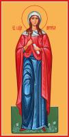 Мученица Анфия Римская, икона (арт.м0146)