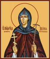 Преподобномученица Арсения Сергиевская (Добронравова), игумения, икона (арт.м0152)
