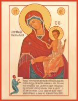Икона Божией Матери Нечаянная Радость (арт.м0165)