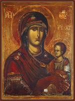 Икона Божией Матери Попская (арт.м0170)
