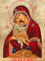 Икона Божией Матери Почаевская (арт.м0171)