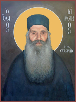 Блаженный старец Иаков (Тсаликис) Эвбейский, икона (арт.м0295)