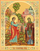 Преподобная Ирина Каппадокийская, икона (арт.м0306)