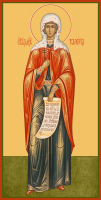 Мученица Валерия (Калерия) Кесарийская (Палестинская), икона (арт.м0321)