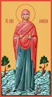Мученица Леонилла (Неонилла) Лангонийская, икона (арт.м0337)