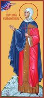 Преподобная Мария Константинопольская, Палестинская, икона (арт.м0381)