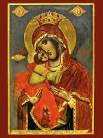 Икона Божией Матери Сладкое Лобзание (Сладкое Целование, Гликофилуса), икона (арт.м0544)