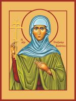 Стефанида дамасская мученица, икона (арт.м0649)