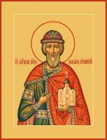 Благоверный князь Роман Угличский, икона (арт.м0661)