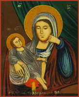 Икона Божией Матери Недремлющеее Око, икона (арт.м0669)
