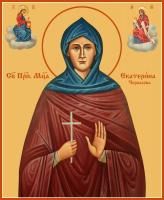 Екатерина Черкасова, Преподобномученица, послушница, икона (арт.м0679)