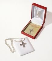 Крест святого Павла Ксиропотамского. Длина цепочки 55 см (арт. АС1)