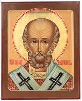 Николай чудотворец, архиепископ Мир Ликийских, святитель, икона (арт.38348)