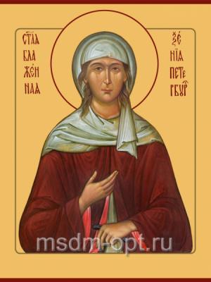 Ксения Петербургская блаженная, икона (арт.00067)